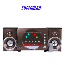 Portable speaker 2.1 surround sound home theatrer amplifier system speaker with mp3 mp4 mp5