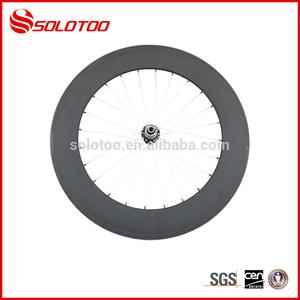 Novo design 700c 88mm 3k/12k/18k/ud clincher estrada bikewhite falou rodas de carbono