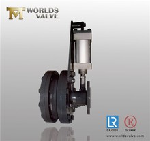 Pneumatic Ceramic Double Disc Gate Valve