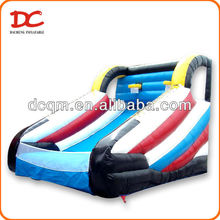 Popular Super Large Two Hoops Inflatable Basketball Court