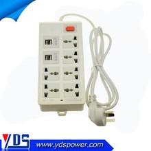2015 New Arrival USB Power Strip Extention Socket