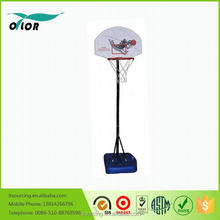 Good price best quality height adjustable and movable 5' portable outdoor kid's basketball stands