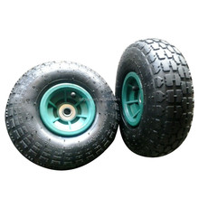 Hand trolley small inflatable tires 3.50-4