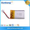 li-ion battery lithium polymer battery 502030 3.7v 250mah for watch, Handheld terminals