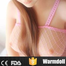 Round Face Cute 145cm Size Women Sexy Breast Shape Sex Doll With Metal Skeleton Inside
