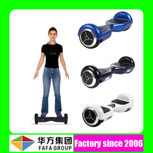 China top ten selling products electric two wheels self balancing scooter sidecars with LED lighting and bluetooth