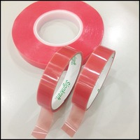 2015 Taiwan made 200um PET Double Sided banner Tape apply in stationery, advertising material, bonding
