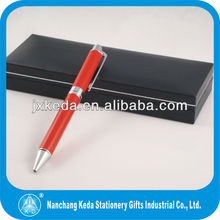 High quality china personalized pen, china red ball pen