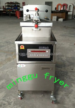 Potato Chips Fryer with Oil Pump /fried turkey machine /pressure fryer machine