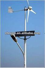 Hydro Solar Wind mini generator with panel&windmill
