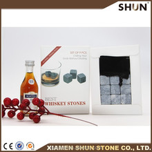 Chilled Glory Premium Whiskey Sipping Stones for Fine Spirits - Bonus Cocktail Recipes - Best Happy Father's Day Gift Set of 9
