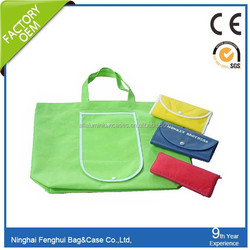 polyester recycle foldable bags