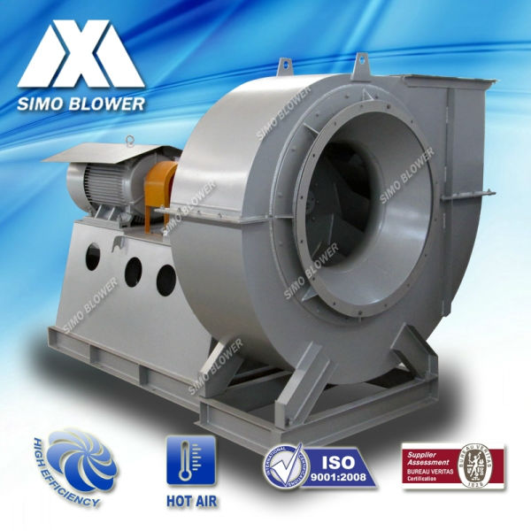 Medium Pressure Centrifugal Blower : Medium pressure wear resistant garbage incinerator