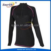Merino Wool Polyester Thermal Clothes for Girls