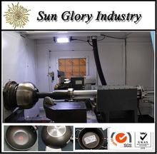 Sun Glory hacer los potes aluminio de CNC torno de repusaje