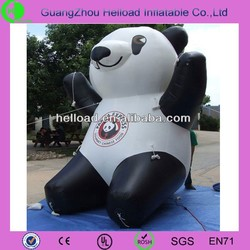 2015 advertising giant inflatable panda for sale