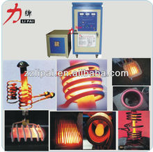 Small portable Induction coil heating brass forging IGBT induction heating machine