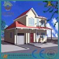 prefab steel structure building ,villa,home,house