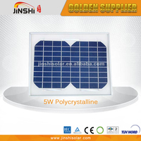 12V System 5W Poly Silicon Low Price Mini Solar Panel