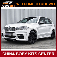 2014-2015 X5 F15 HAM-ANN style Wide Car bumper BODY KIT for BMW X5 F15