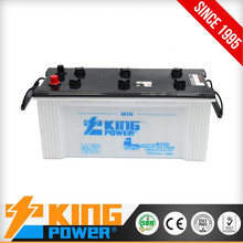Made in china N150 12V150AH with low price battery for dry charged car batteries