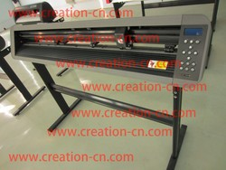 1300 cutting plotter with red dot CS1200 vinyl cutter with contour cutting vinyl graphic cutting plotter adhesive pvc cutter