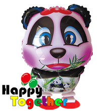 Happy Together factory Wholesale New Arrivel Chinese Panda Walking Inflating Foil Balloons