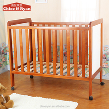 Natural Baby Furniture, baby bed, wooden baby cribs rattan baby bassinet