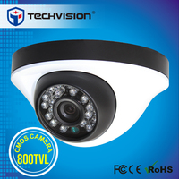 Low price 800tvl day and night color ccd camera with metal case