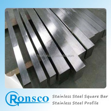 common material cheap price 304 stainless steel square bar