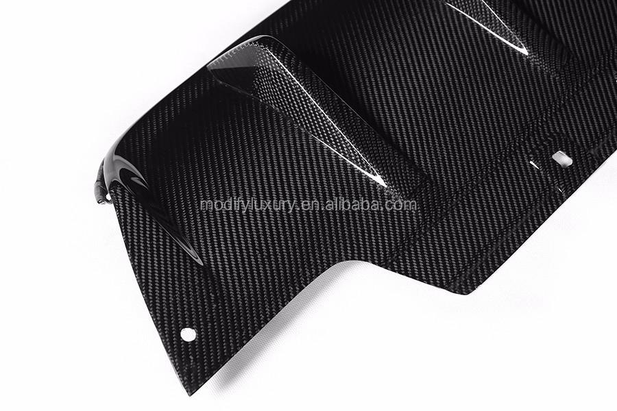 ML Estilo Fibra De Carbono Lip Traseiro para BMW M6 M6 2014Up F06 F12 F13