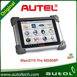 Professional universal auto diagnostic scanner original autel maxisys pro ms908p update online ecu diagnostic interface