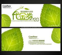 Discount coupon with custom design printing, hologram coupons print