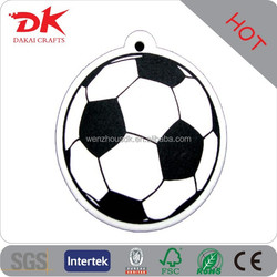 Car accessories Famous Team Shaped football car air fresheners