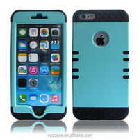 High protective 3 in 1Defender Hybrid Cell Phone Case for iPhone 4s/5s