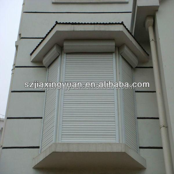 Motorized aluminum exterior window shutter buy exterior - Electric window shutters interior ...