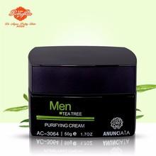 Tea Tree Skin Care Moisturizer Repair Facial Cream For Men