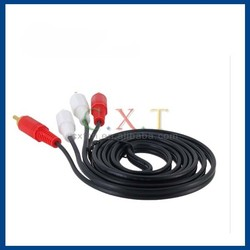 1.5 m 2 RCA to 2 RCA Cable (Black)