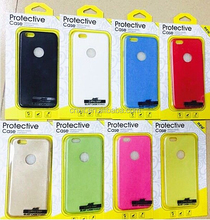 wholesale PU leather cell phone case for iphone 6 4.7 and 5.5 inch