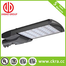 UL DLC TUV-GS CE RoHS single arm led street light 165w for main road using