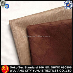 2016 High Quality Embroidered Microfiber Suede Fabric