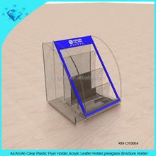 A4 A5 A6 Clear Plastic Flyer Holder,Acrylic Leaflet Holder,plexiglass Brochure Holder