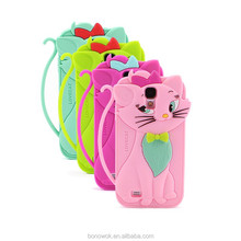 Animal Shaped Colorful Silicone Case For Mobile Phone