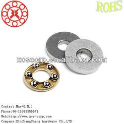 4x10x4 mm bearing f4-10 Thrust Ball Bearing for Crane hook
