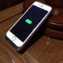 Mobile Phone Battery Emergency Charger For iPhone 6 Battery Case Charger Case For iPhone 6 Power Bank Case For iPhone 6 Plugs