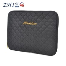 "ZQ-E-020 Dongguan Nylon factory outlet BSCI shockproof 11"" grid tablet case"