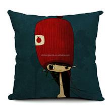 100% polyester satin rose ruffle seat cushion