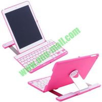 High Quality Aluminum Alloy Bluetooth Keyboard for iPad Air with 360 Degree Rotating Cover