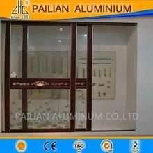 Alta qualidade tamanho padrão de alumínio portas e janelas da fábrica, ruptura térmica janela de alumínio ea porta