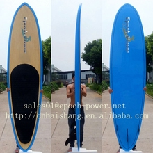 2014 Best selling bamboo veneer sup board/EPS Paddle board/surfboard